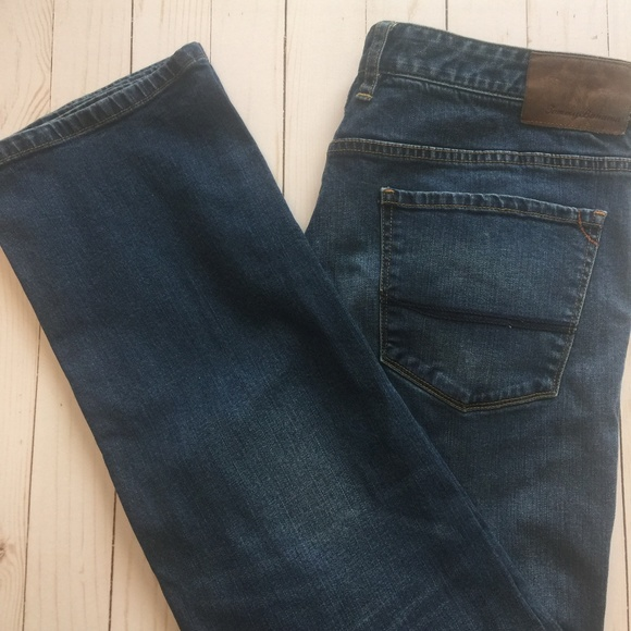 1829160b Tommy Bahama Jeans | Sand Straight Leg 35 30 Euc | Poshmark